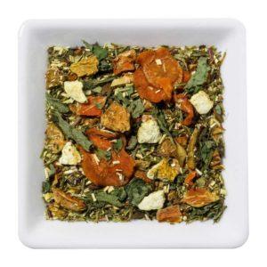 lente thee, groene rooibos thee met fruit en kruiden