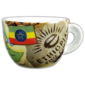 Ethiopie ancap koffie kop