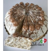 Nougat Bitterkoekjes taart