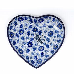 Bunzlau Castle hartvormige schaal