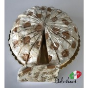 Nougat Karamel zeezout taart