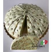 Nougat Pistache taart