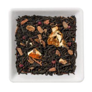 Zwarte thee met kaneel en sinaasappel