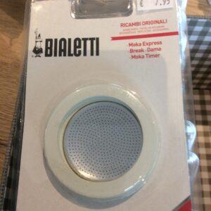 Bialetti ringen en filter